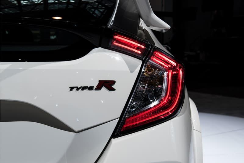 2018 Honda Civic Type R Badge Tail Light