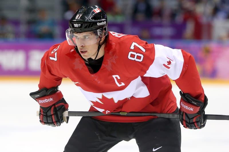 NHL Sidney Crosby Hockey Player Olympics