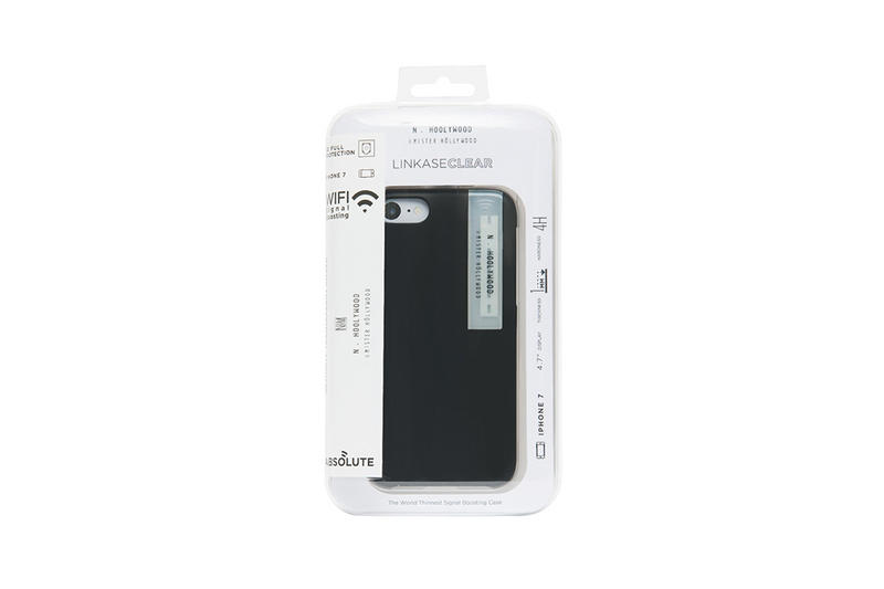 N.HOOLYWOOD LINKASE iPhone 7 Case black white