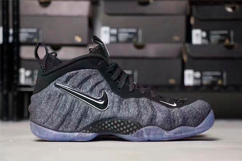 buy popular 6ec6a 1386b Nikes Air Foamposite Pro Takes on a Tech Fleece Makeover