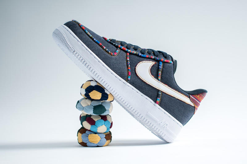 Nike Air Force 1 '07 LV8 Hacky Sack Colored Pattern Denim