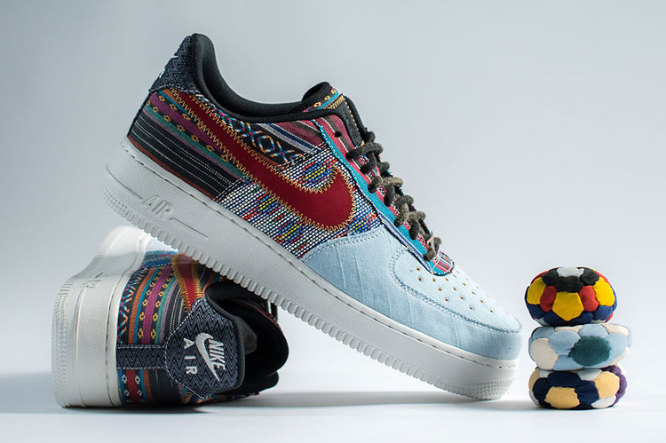 7e49fe4896b Nike Air Force 1 Low Receives a Hackeysack-Inspired Makeover