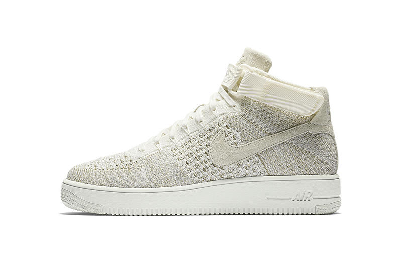 "Nike Air Force 1 Mid Flyknit ""Sail"""