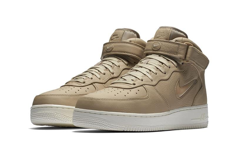 Nike Air Force 1 Mid Jewel Vachetta Tan