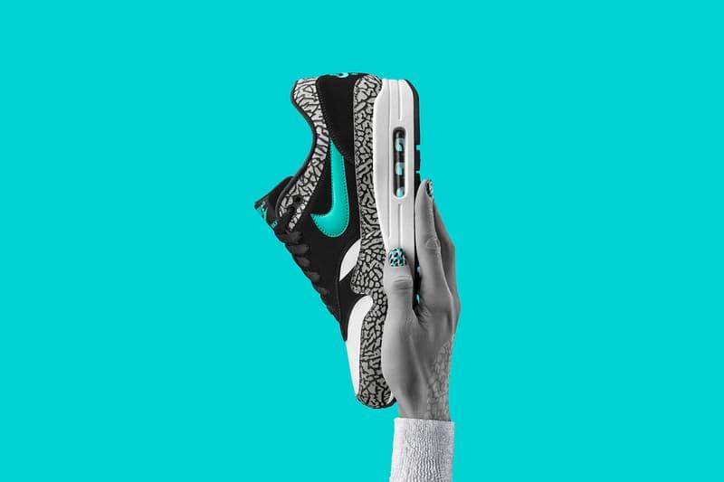 "Nike Air Max 1 ""atmos Elephant"" Barney's New York Japan Restock Footwear Sneakers Shoes"