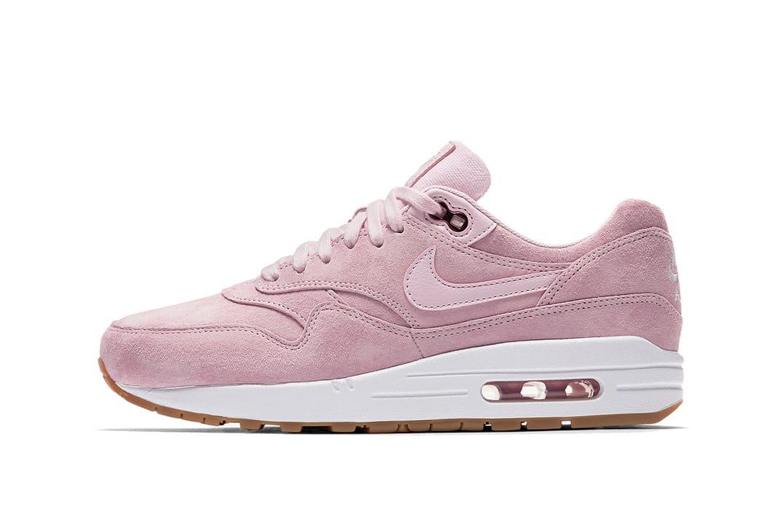 Nike Air Max 1 in Pink Suede | HYPEBEAST