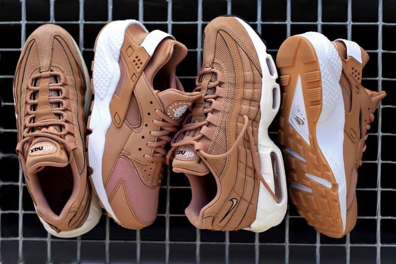 """Nike """"Dusted Clay"""" Pack Air Max 95 Air Huarache"""