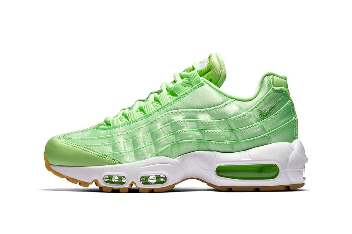 nike 95 neon green
