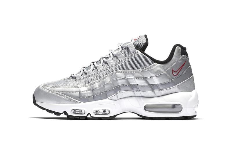 online store c459b 44cae Nike Air Max 95 Silver Bullet