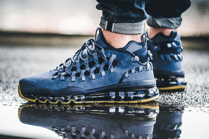 94cd946f5e Nike Air Max TR 17 Navy and Grey Suede Makeover | HYPEBEAST
