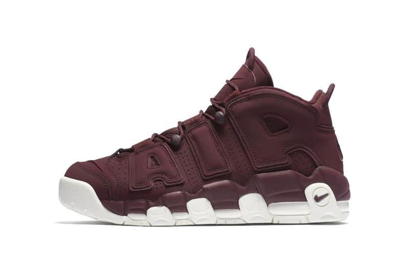 separation shoes 5b94a 38b7b ... Nike Air More Uptempo Bordeaux ...