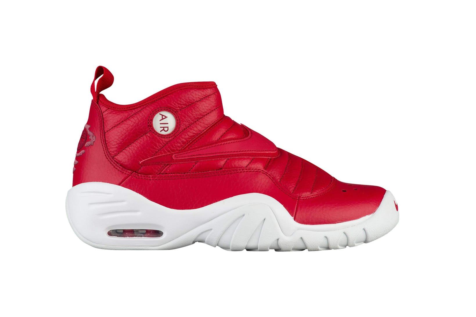 Nike Air Shake NDestrukt All White and