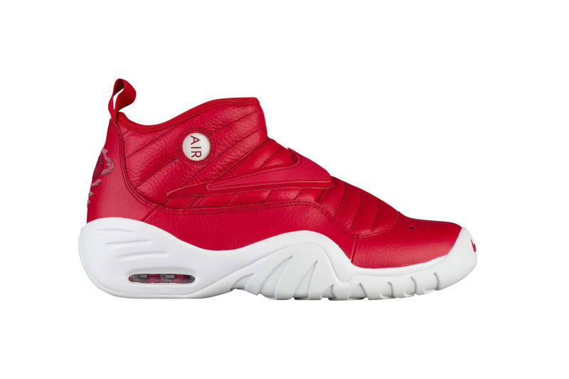 Nike Air Shake NDestrukt Dennis Rodman White Red Chicago Bulls