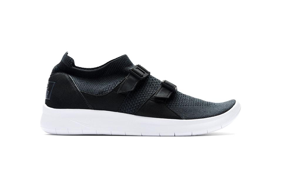 c2d1a69599a9d Nike Air Sock Racer Ultra Flyknit Black   Olive