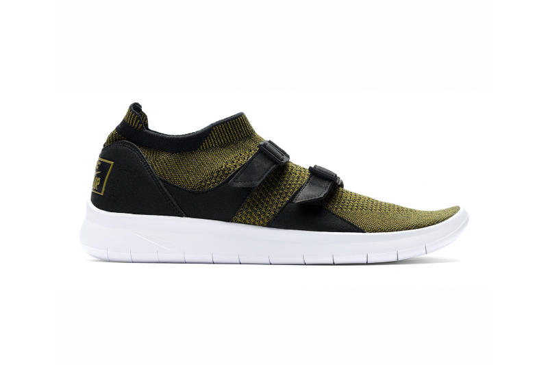 c58006eb8d75 Nike Air Sock Racer Ultra Flyknit Black   Olive