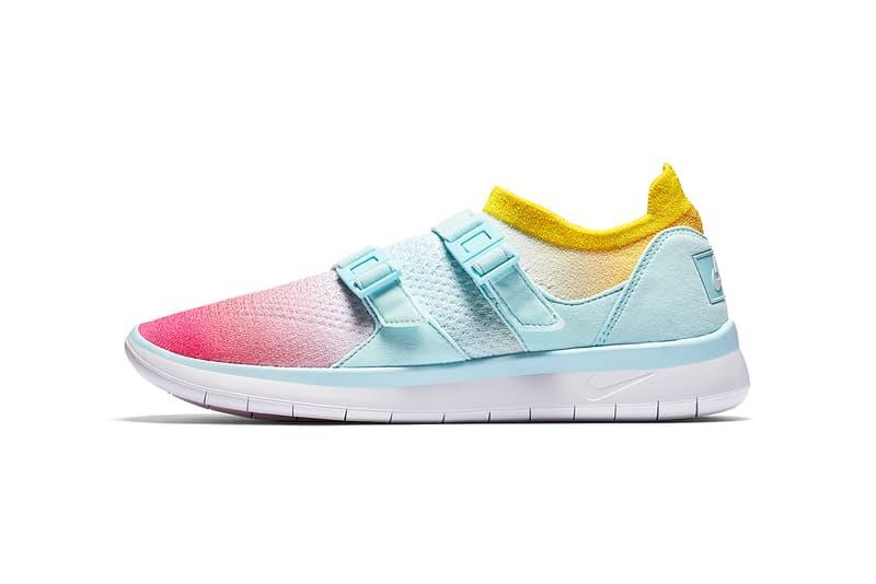 Nike Air Sock Racer Ultra Flyknit Glacier Blue Pink