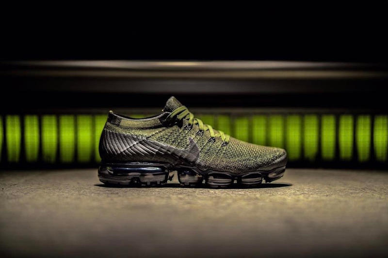 ecb49ec4ca02df The Nike Air VaporMax Surfaces in Military Olive