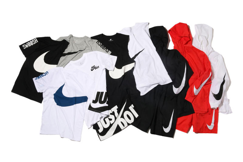 """atmos and Nike """"Big Swoosh"""" Collection"""
