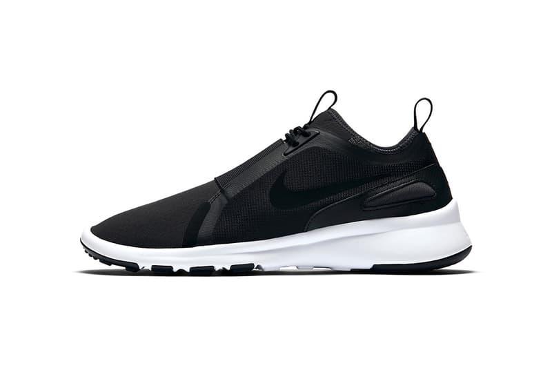 Nike Current Slip On Black White