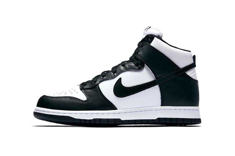Nike Dunk High in Black   White  e71ea5f30761