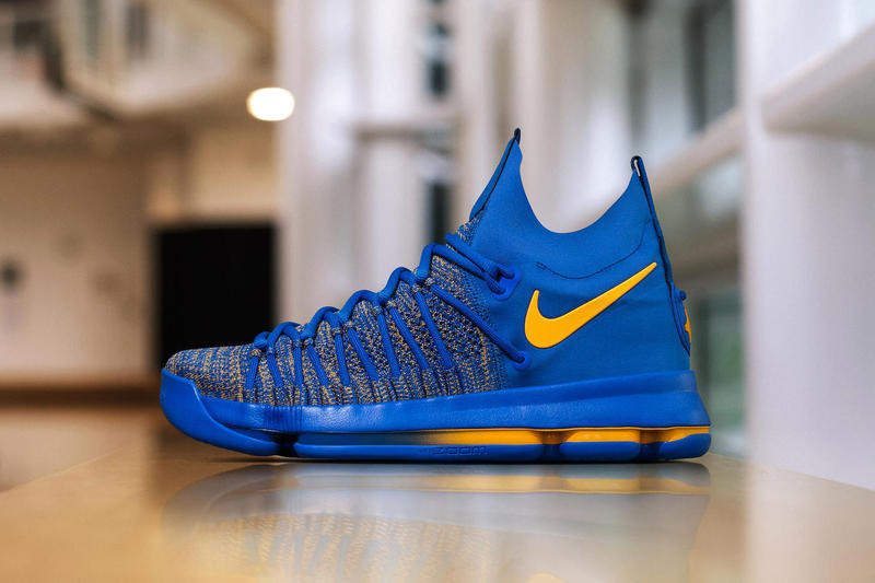 Nike KD 9 Elite PE Golden State Warriors