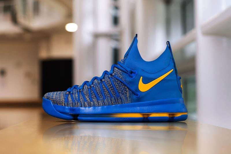 newest da75d 55068 Nike KD 9 Elite PE Golden State Warriors