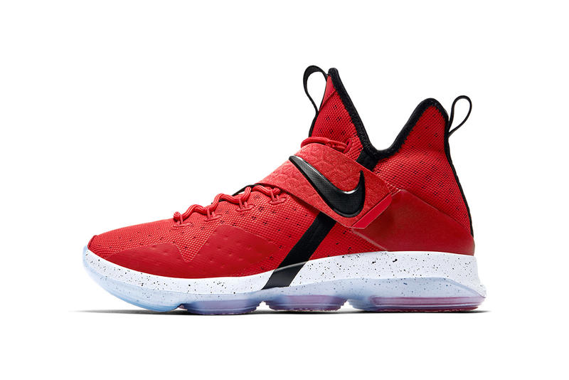 quality design 5a311 b7a9a Nike LeBron 14 Red Brick Road