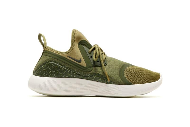 Nike LunarCharge Camper Green Cool Grey