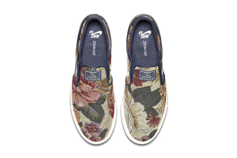 Nike SB Zoom Stefan Janoski Slip On Tapestry