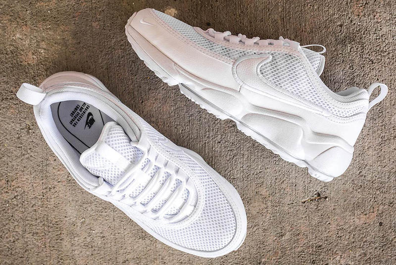 Nike Zoom Spiridon Ultra Triple White