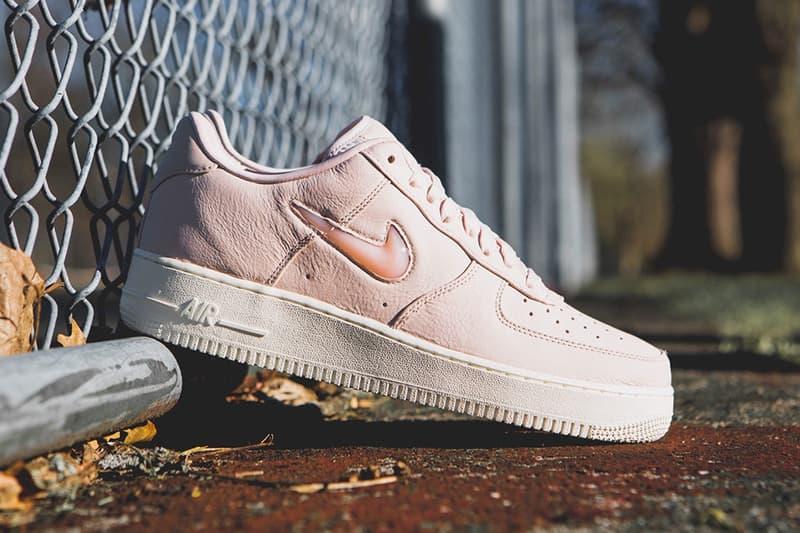 NikeLab Air Force 1 Low Jewel Silt Red Nike Footwear Sneakers Shoes
