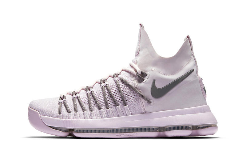 info for 0f76c d50e3 NikeLab KD 9 Elite Pink Dust Basketball Footwear Sneakers Shoes