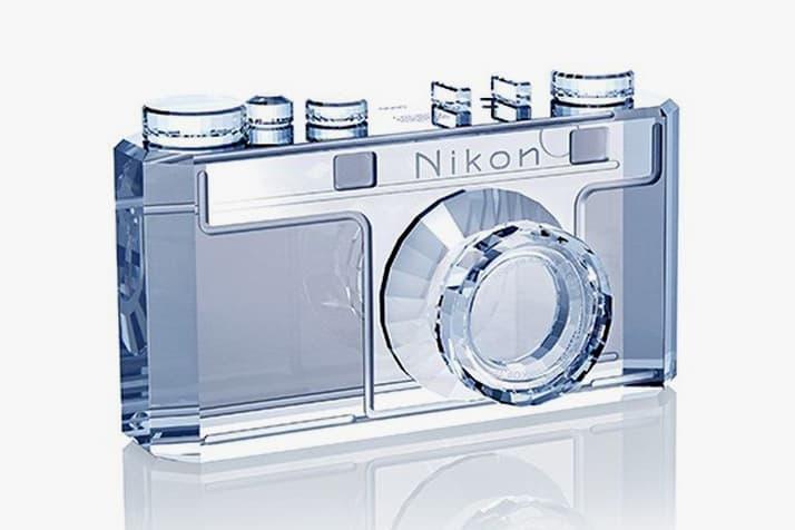 Nikon Model I Swarovski Crystal Replica