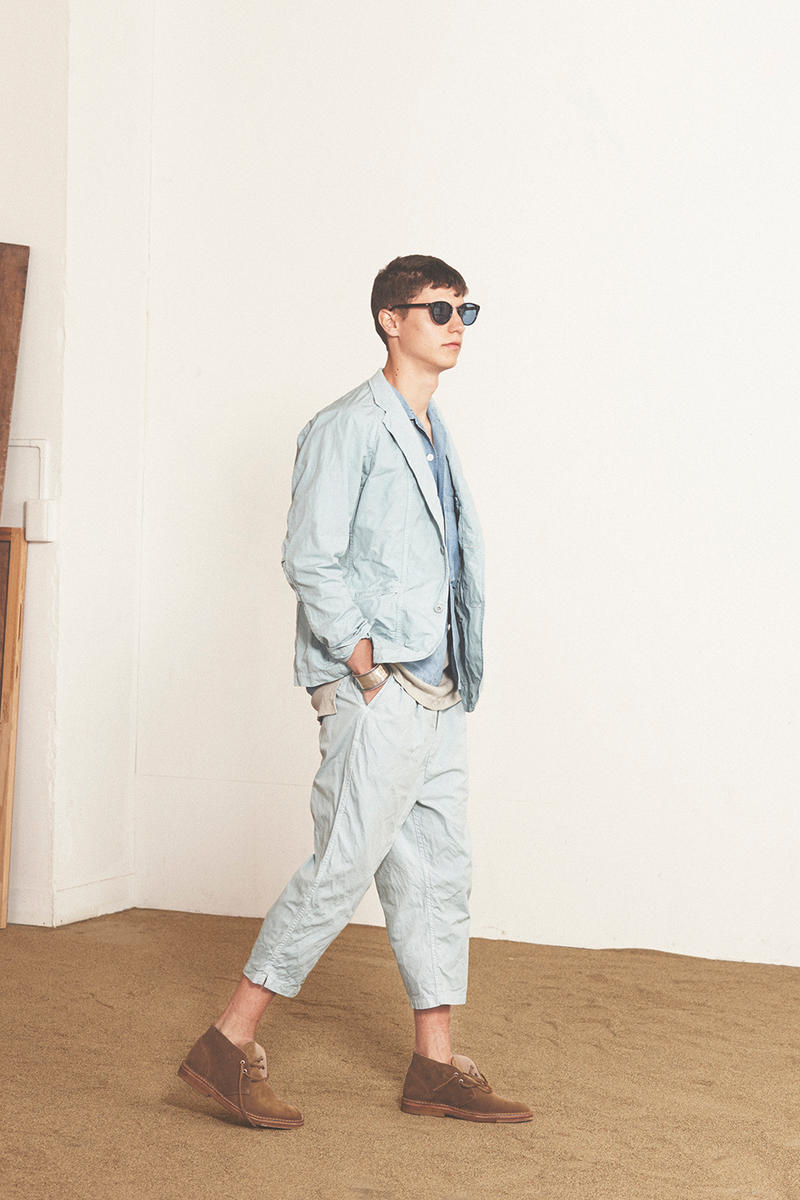 nonnative spring/summer 2017 chambray suit