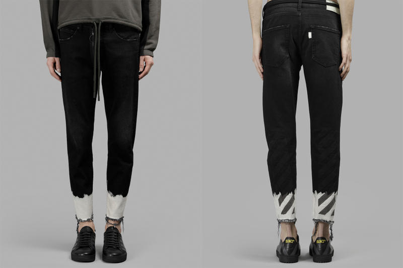 OFF-WHITE Silence Black Jeans