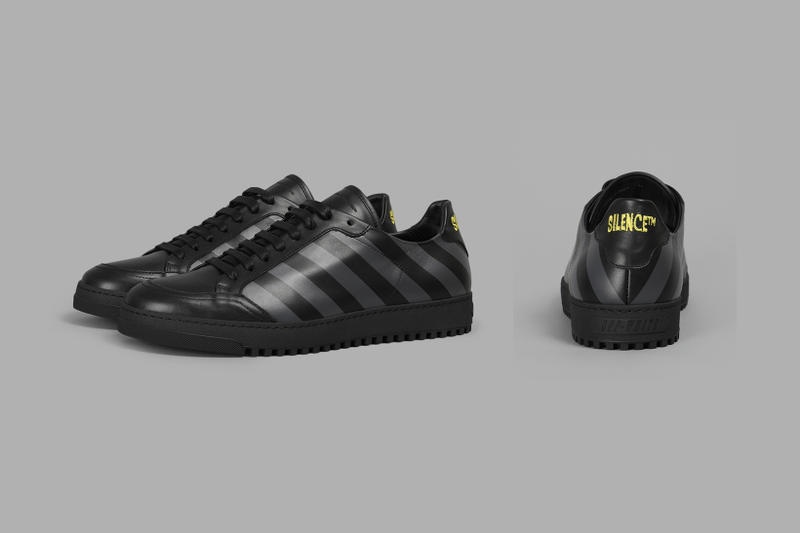 OFF-WHITE Silence Black Sneakers
