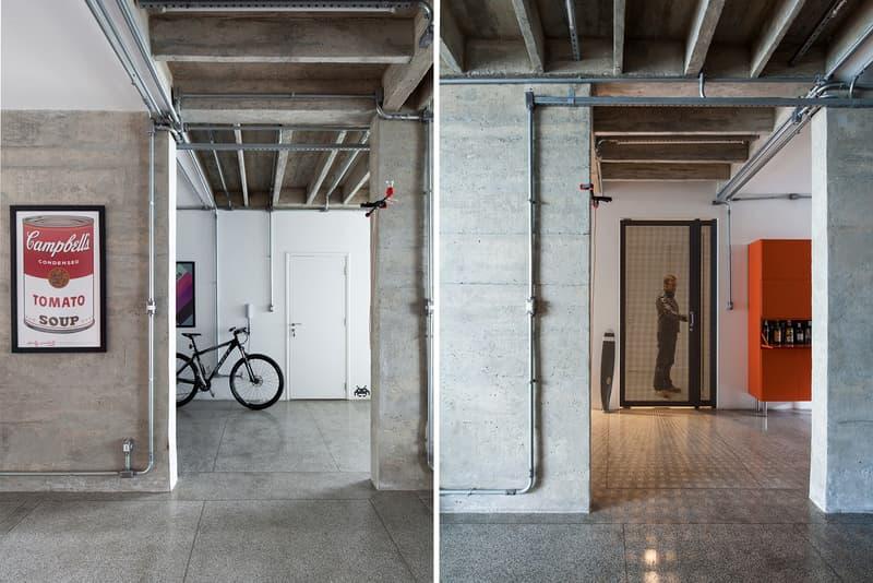 Oscar Niemeyer apartment interior design