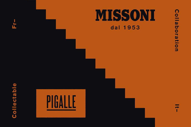 Pigalle Announces New Missoni Collaboration