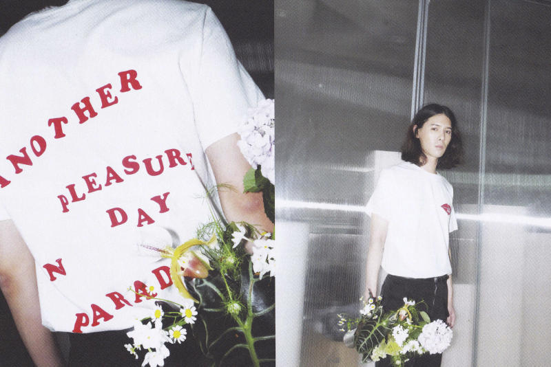 PLEASURE 2017 Spring/Summer Collection Lookbooks Graphic T-Shirts