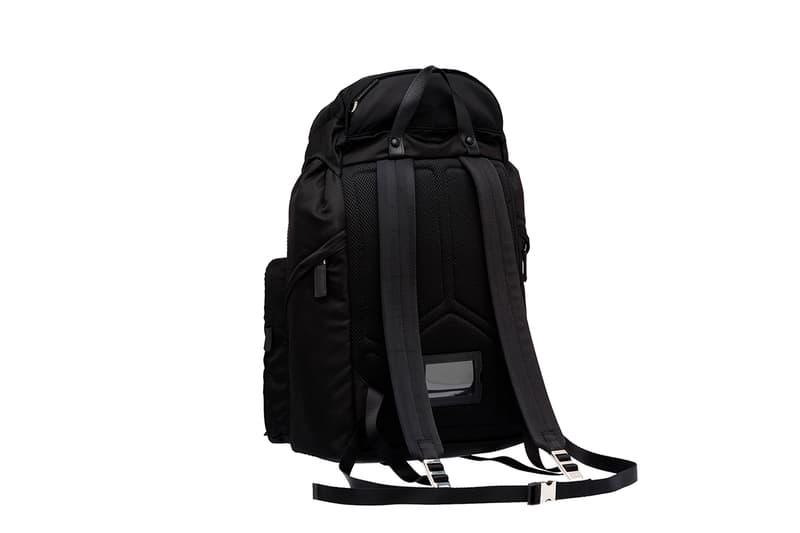 Prada Backpack Traveling Urbanite Black