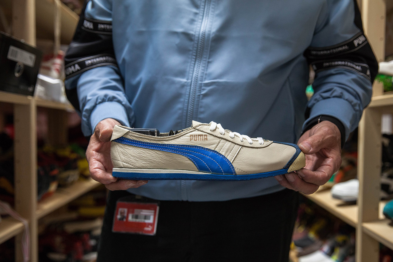 Mr. PUMA on the Brand's Rich Sporting Legacy Helmut Fischer