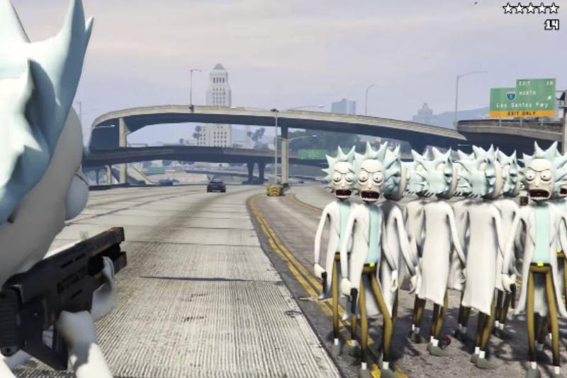 Rick And Morty GTA 5