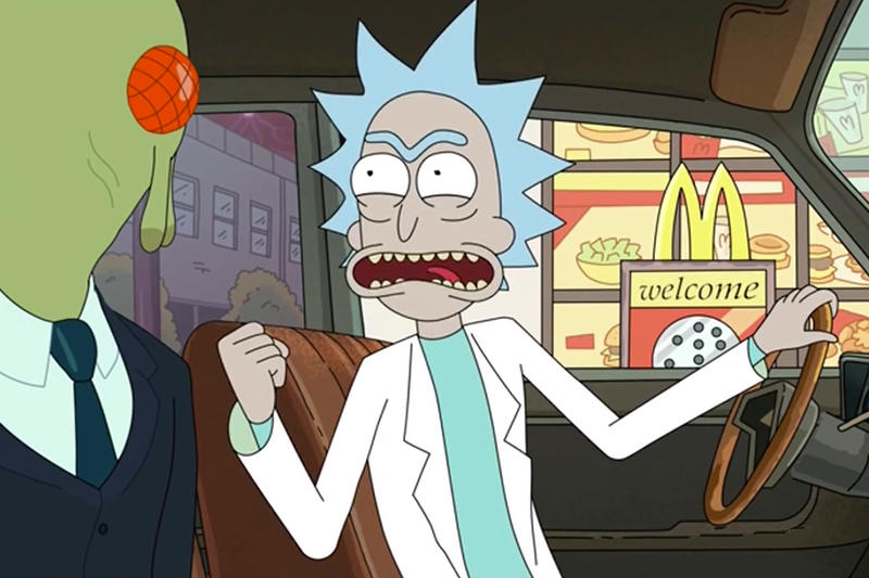 Rick and Morty Szechuan Sauce Mulan Mcdonalds