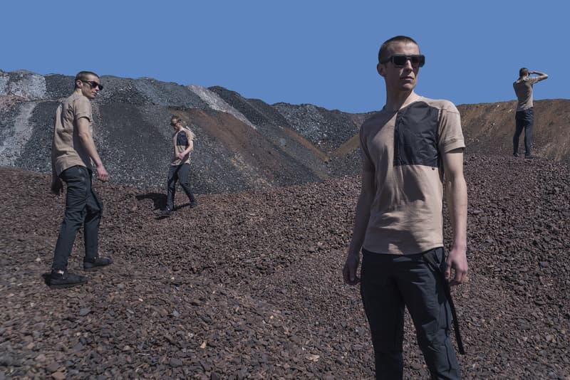 Riot Division 2017 Spring/Summer Collection Lookbook Mars T-shirts Crewnecks Cargo Pants