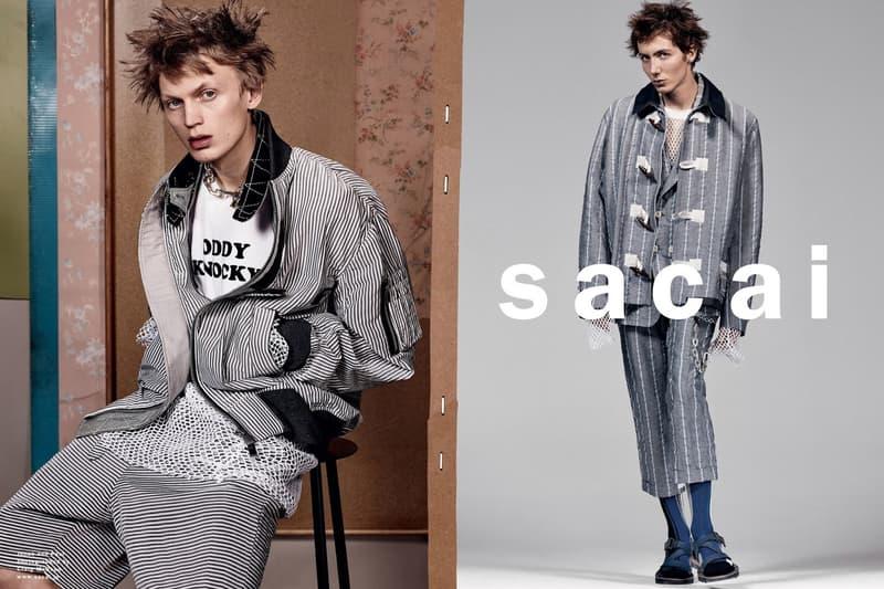 sacai 2017 Spring/Summer Menswear Collection
