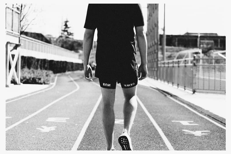 Roden Gray Satisfy 2017 Spring/Summer Lookbooks High-end Running Apparel Roden Gray Track and field