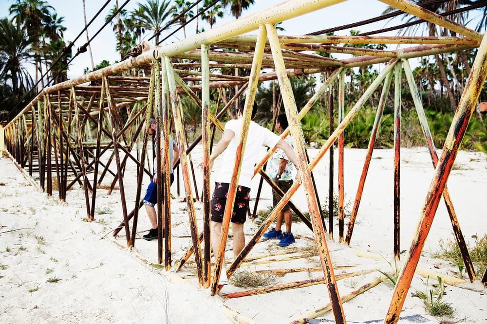 Self Edge 2017 Spring Summer Lookbook Kiya Babzani Beach