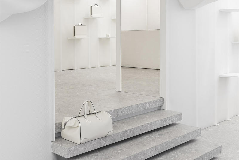 Snarkitecture Valextra Pop-Up Shop Milan
