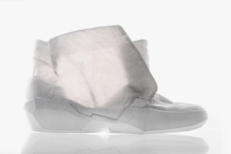 Sruli Recht ECCO Apparition Collection Translucent Cow-Hide Leather Apparel Clothing Jackets Shoes