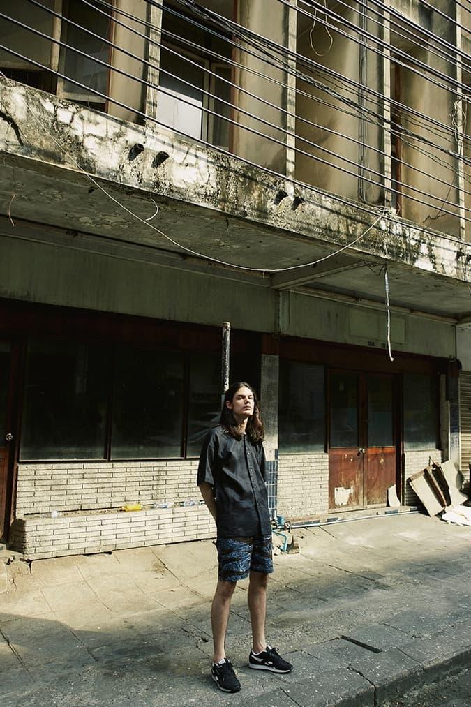 SSAP NYC 2017 Spring/Summer Collection Lookbooks Denim Patchwork Mel Sangsomsap Thailand Indigo Dying